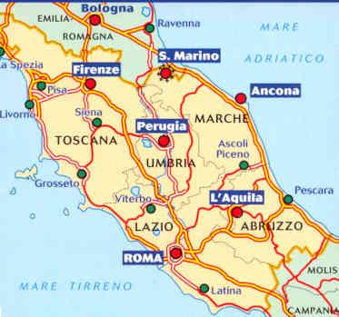 Cartina Dell Italia Stradale.Milano Cartina Politica